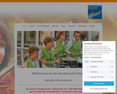 Screenshot (small) http://www.musikschule-pullach.de