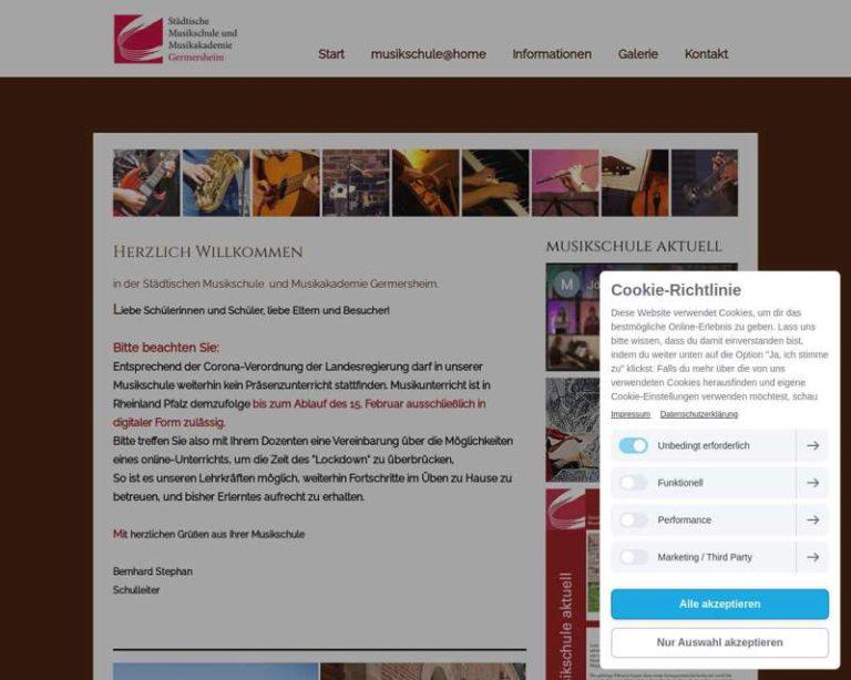 Screenshot (middle) http://www.musikschule-germersheim.de