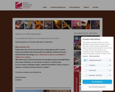 Screenshot (small) http://www.musikschule-germersheim.de