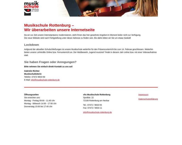 Screenshot (middle) http://www.musikschule-rottenburg.de