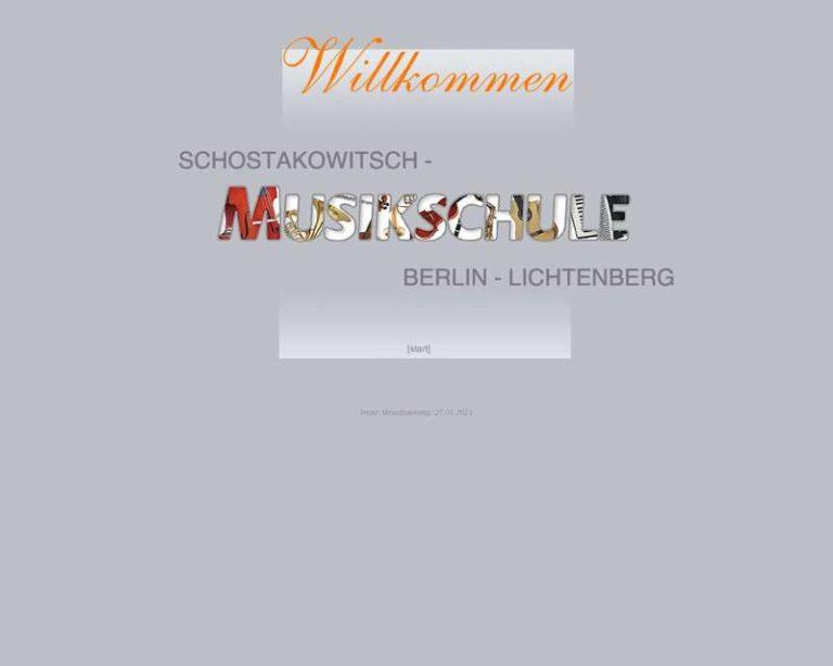 Screenshot (middle) http://www.schostakowitsch-musikschule.de
