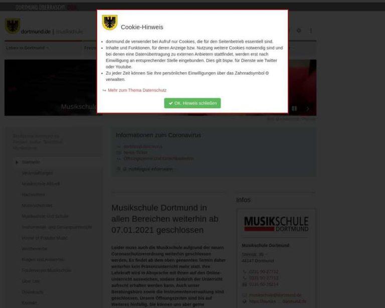 Screenshot (middle) http://www.dortmund.de/musikschule
