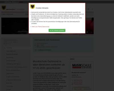 Screenshot (small) http://www.dortmund.de/musikschule