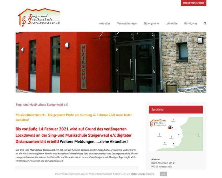 Screenshot (middle) http://www.musikschule-steigerwald.de