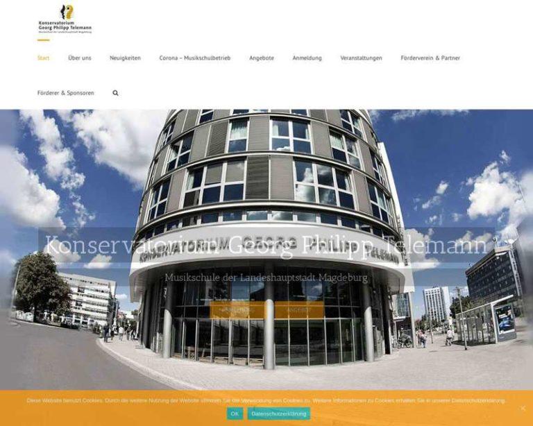Screenshot (middle) http://www.telemann-konservatorium.de/