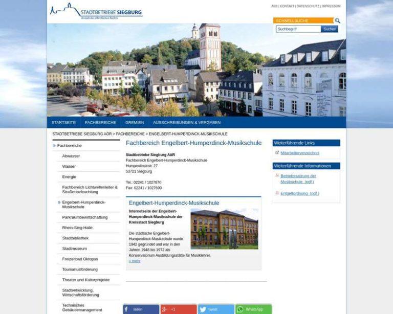 Screenshot (middle) http://www.engelbert-Humperdinck-musikschule.de
