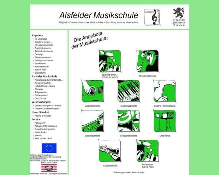 Screenshot (middle) http://www.alsfelder-musikschule.de