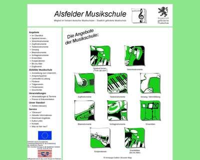 Screenshot (small) http://www.alsfelder-musikschule.de
