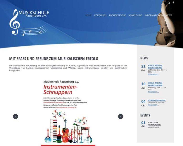 Screenshot (middle) http://www.musikschule-rauenberg.de/