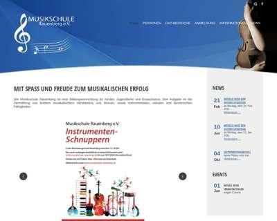 Screenshot (small) http://www.musikschule-rauenberg.de/
