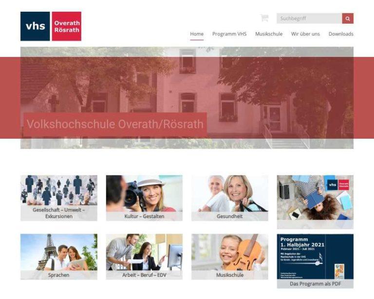 Screenshot (middle) http://www.vhsor.de