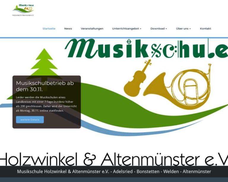 Screenshot (middle) http://www.musikschule-ha.de