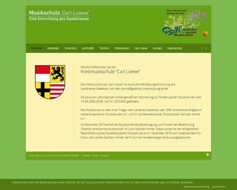 Screenshot (middle) http://www.musikschule-carl-loewe.de