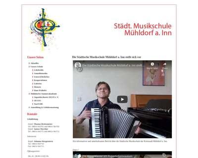 Screenshot (small) http://www.musikschule-muehldorf.de/
