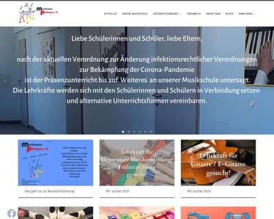 Screenshot (small) http://www.musikschule-puettlingen.de