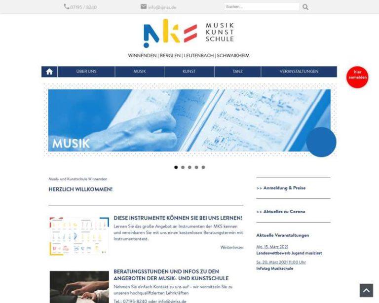 Screenshot (middle) http://www.sjmks.de