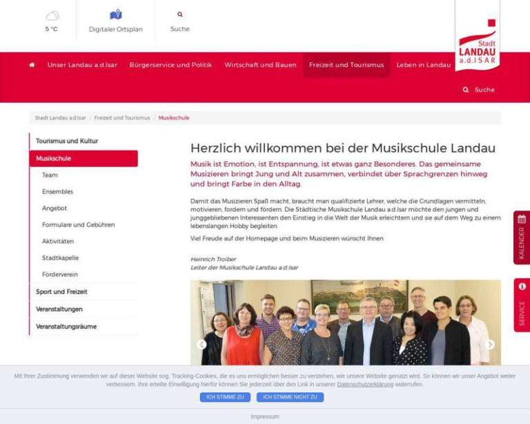 Screenshot (middle) https://www.landau-isar.de/freizeit-und-tourismus/musikschule/