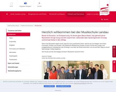 Screenshot (small) https://www.landau-isar.de/freizeit-und-tourismus/musikschule/