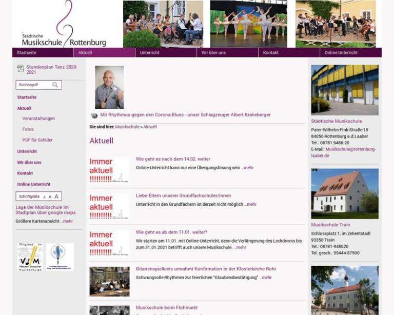 Screenshot (middle) http://www.musikschule-rottenburg-laaber.de