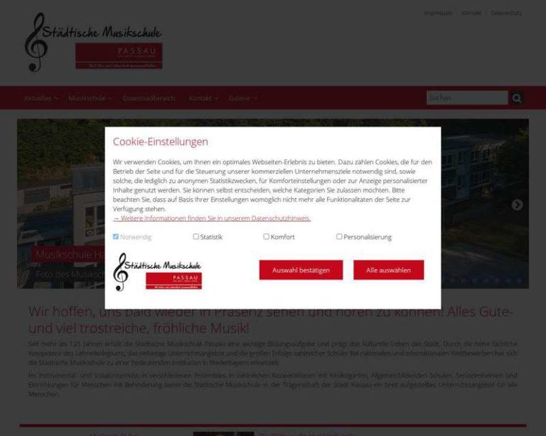 Screenshot (middle) http://musikschule.passau.de