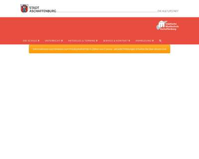 Screenshot (small) http://www.musikschule-aschaffenburg.eu