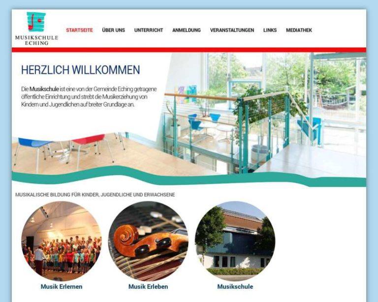 Screenshot (middle) http://www.musikschule-eching.de