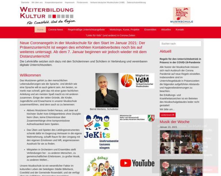Screenshot (middle) http://www.musikschule.coesfeld.de
