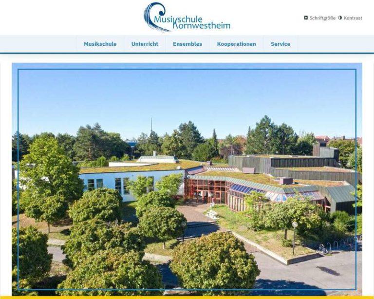 Screenshot (middle) http://www.musikschule-kornwestheim.de