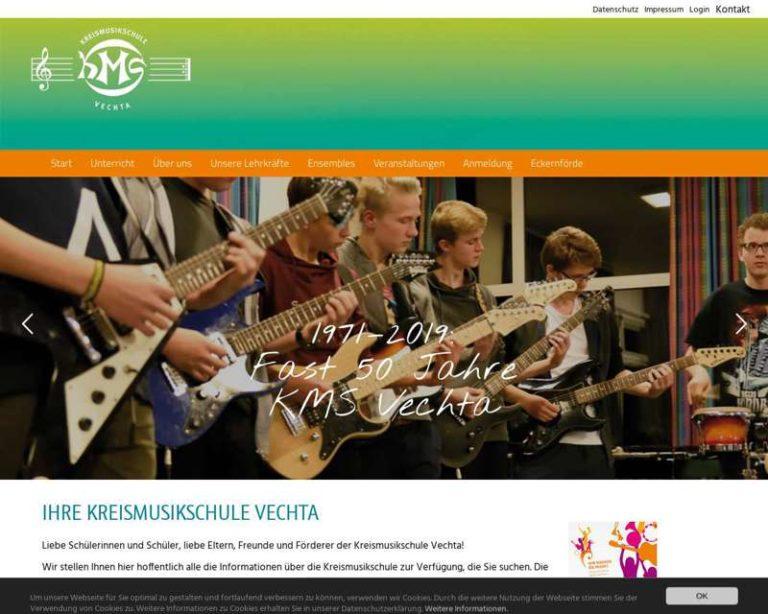 Screenshot (middle) http://www.kmsvechta.de