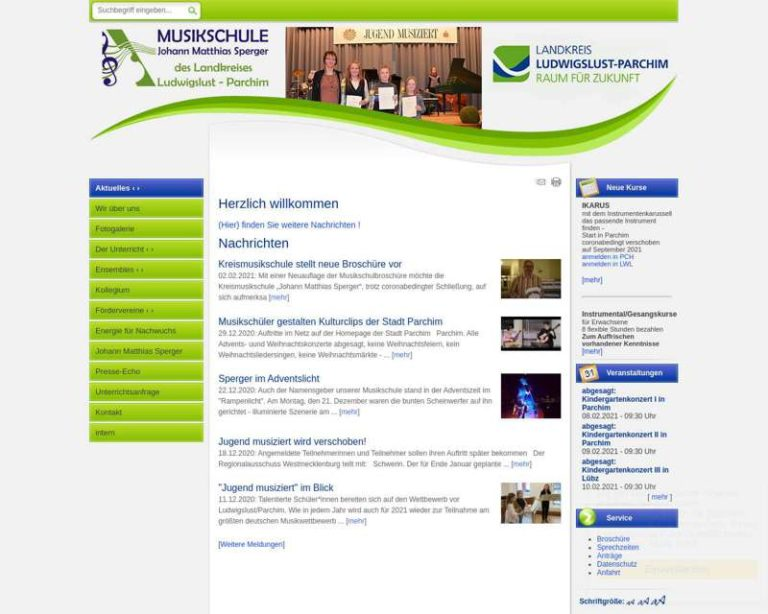 Screenshot (middle) http://www.musikschule-lup.de/