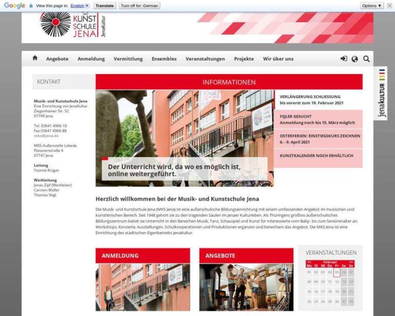 Screenshot (middle) http://www.mks-jena.de