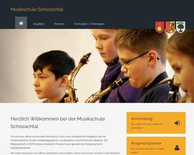 Screenshot (small) http://www.musikschule-schozachtal.de