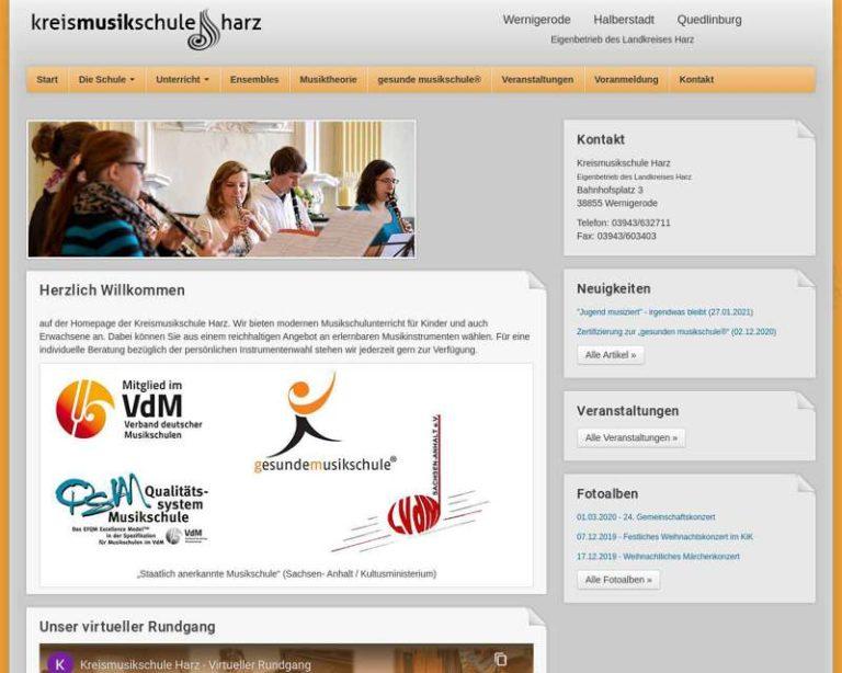 Screenshot (middle) http://www.kreismusikschuleharz.de