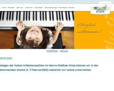 Screenshot (small) http://www.musikschule-werra-meissner.de