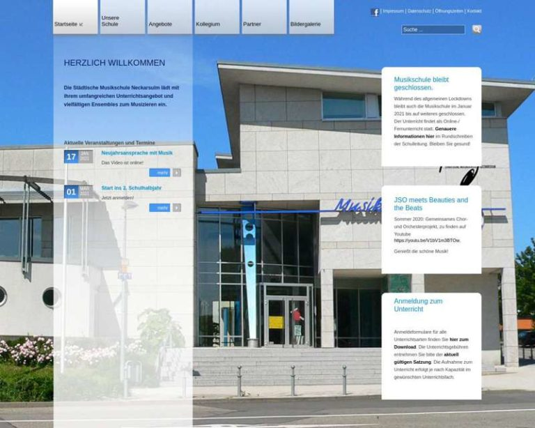 Screenshot (middle) http://www.musikschule-neckarsulm.de