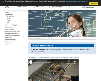 Screenshot (small) https://meerbusch.de/kultur-und-tourismus/musikschule.html