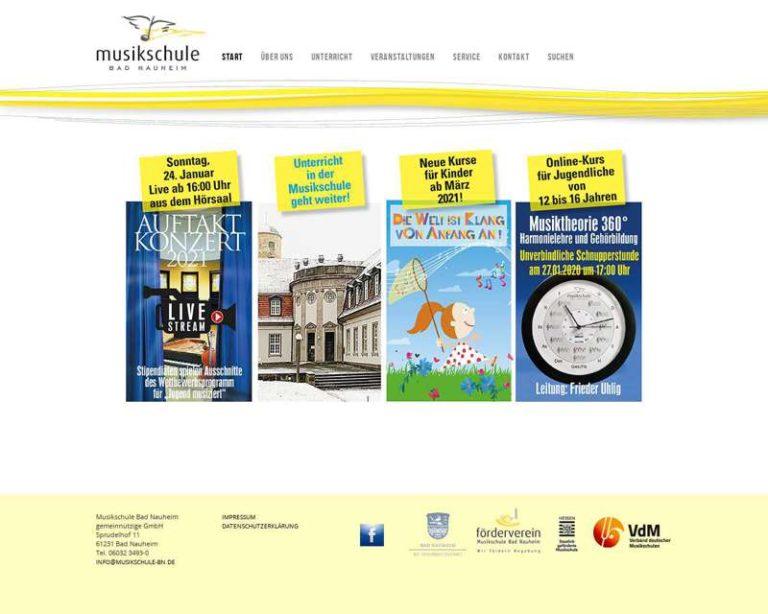 Screenshot (middle) http://www.musikschule-bn.de