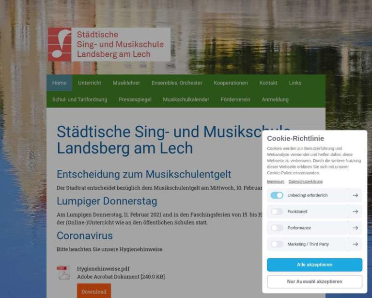 Screenshot (middle) https://www.musikschule-landsberg.de