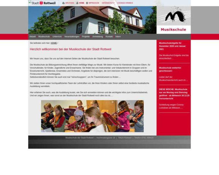 Screenshot (middle) http://www.musikschule.rottweil.de