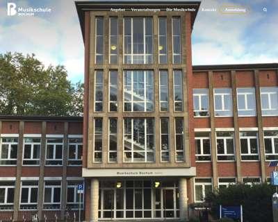 Screenshot (small) http://www.musikschule-bochum.de
