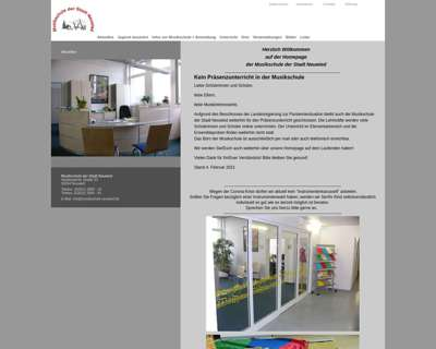 Screenshot (small) http://www.musikschule-neuwied.de