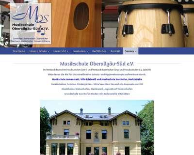 Screenshot (small) http://www.musikschule-oberallgaeu-sued.de
