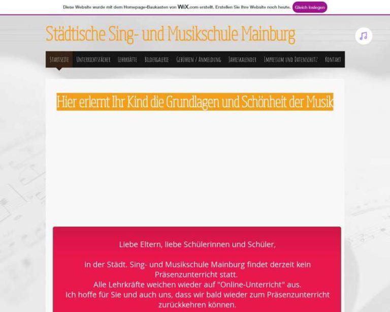 Screenshot (middle) http://www.musikschulemainburg.de