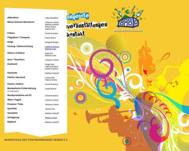 Screenshot (middle) http://www.musikschule-geseke.de