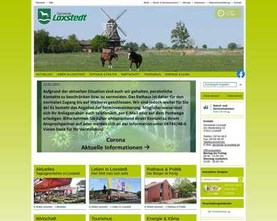 Screenshot (small) http://www.loxstedt.de