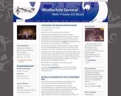 Screenshot (small) http://www.musikschule-seevetal.de