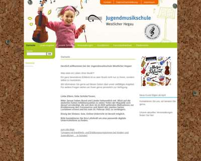 Screenshot (small) http://www.jumu-hegau.de