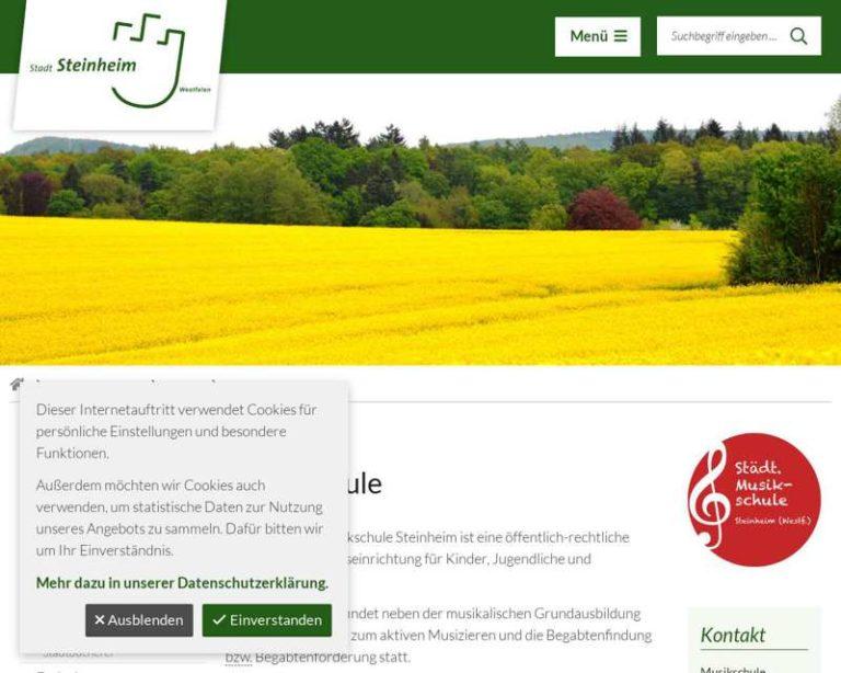 Screenshot (middle) http://www.steinheim.de/Leben-in-Steinheim/Bildung/Musikschule