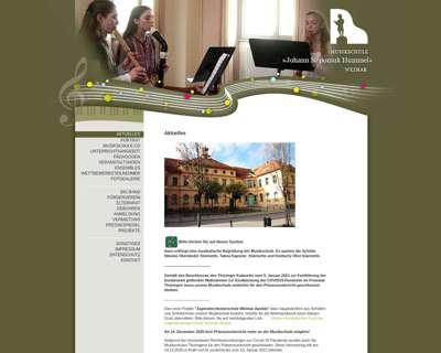 Screenshot (small) http://www.musikschule-weimar.de