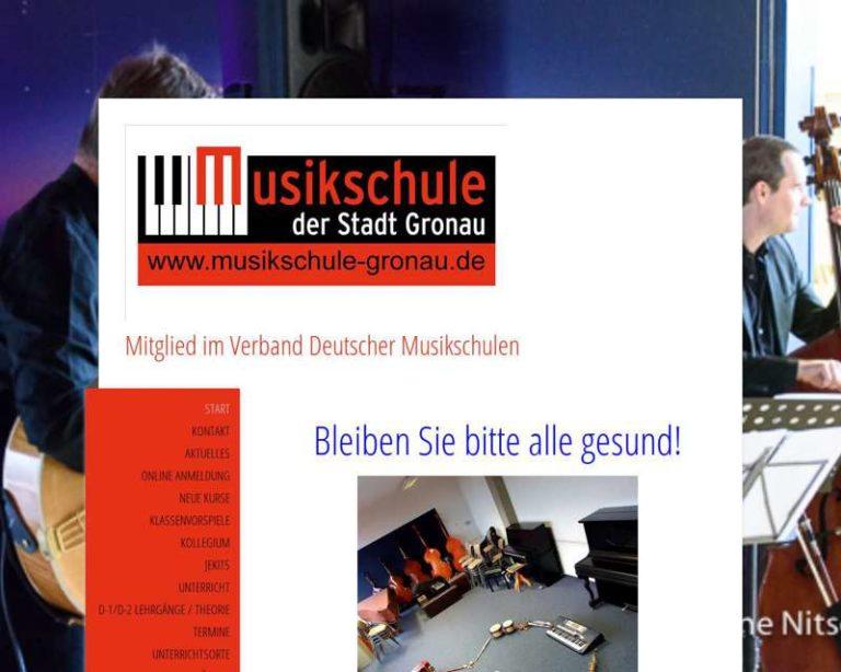 Screenshot (middle) http://www.musikschule-gronau.de
